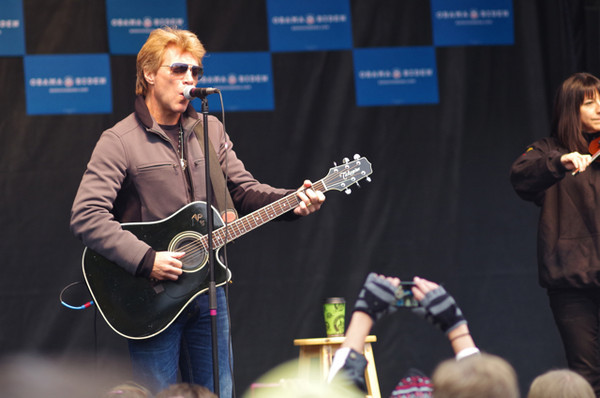 Jon Bon Jovi soutien Obama