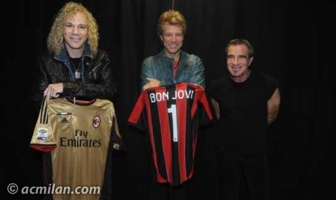 AS milan bon jovi
