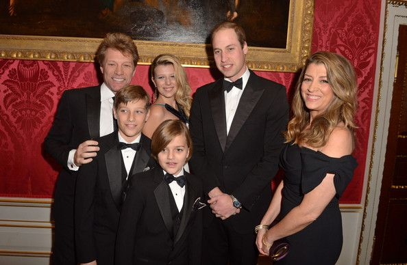 Famille Bon Jovi Gala Prince William