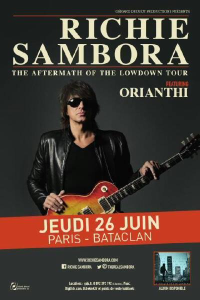 concert richie sambora paris