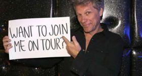 Faite un don et chantez avec Jon Bon Jovi