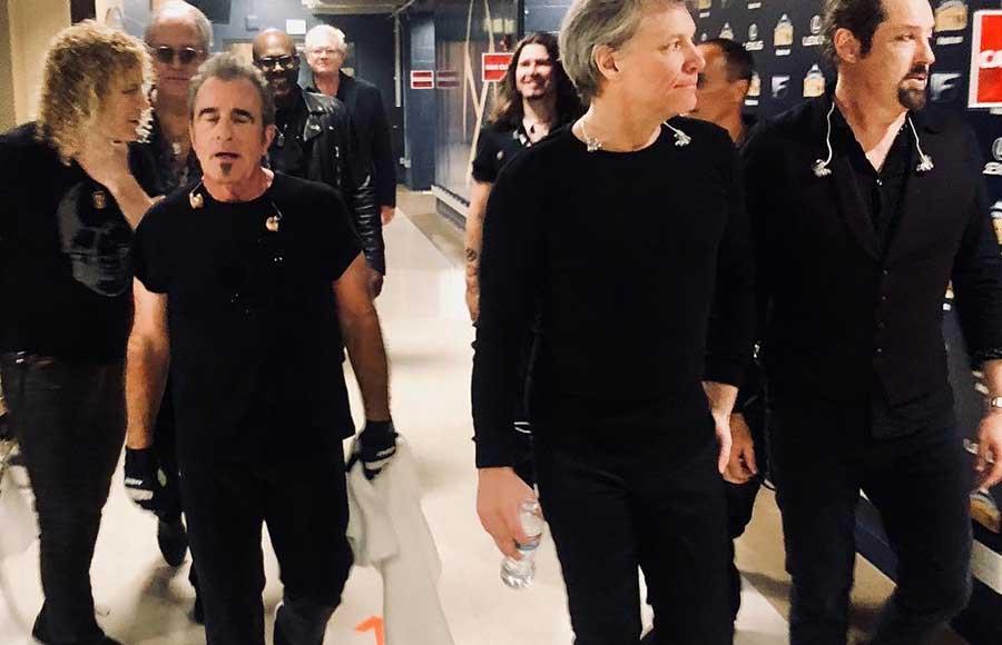après concert Denver Bon Jovi