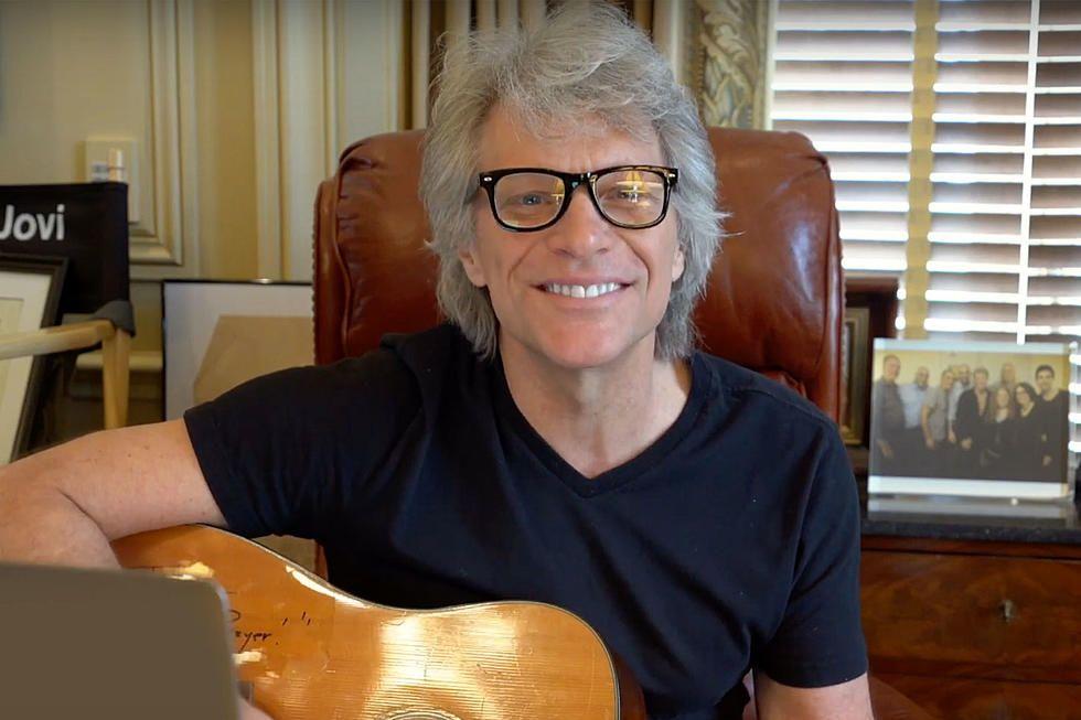 Jon Bon Jovi chante #dowhatyoucan